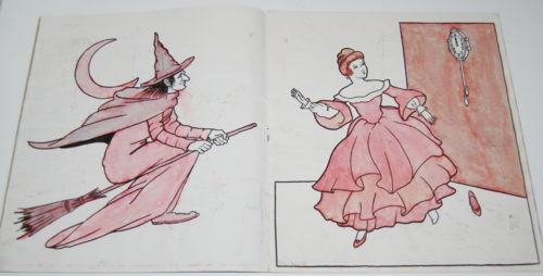 Storyland pictures saalfield paint book 3