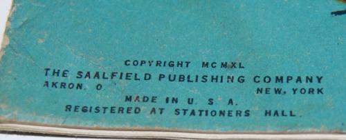 Storyland pictures saalfield paint book x