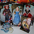 Alice through the looking glass dolls