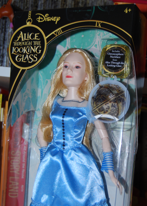 Alice through the looking glass doll alice 1