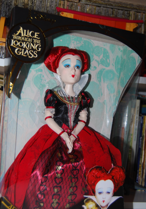 Alice through the looking glass doll red queen 1
