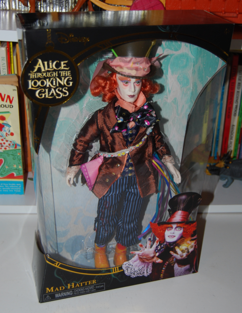 Alice through the looking glass doll mad hatter