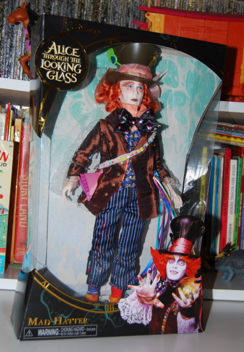 Alice through the looking glass doll mad hatter 1