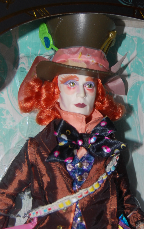 Alice through the looking glass doll mad hatter x