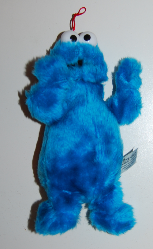 Namco cookie monster plush
