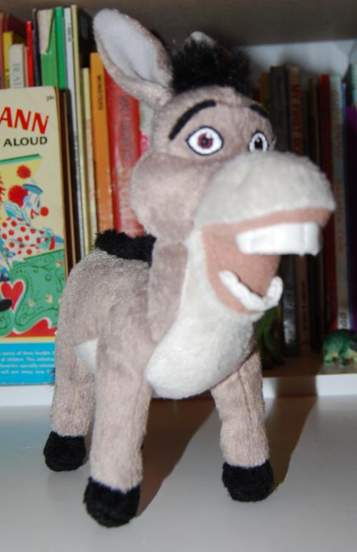 Shrek donkey plush toy 1