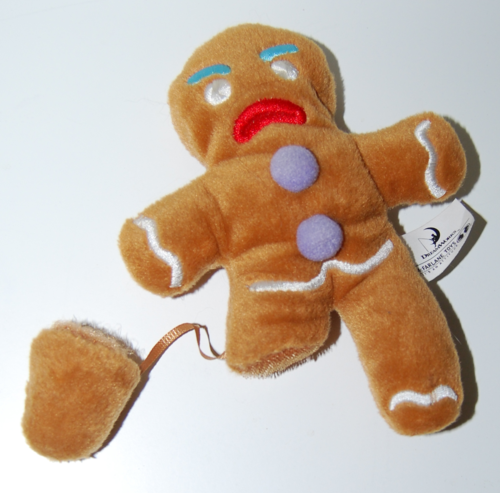 Shrek gingerbread man toy