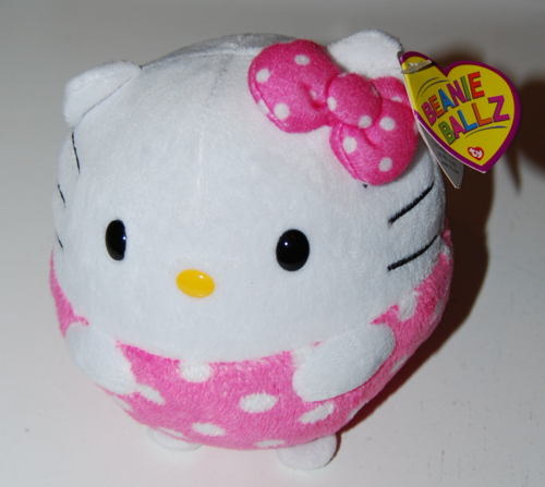 Hello kitty beanie ballz