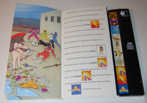 Power rangers golden sound story book 6