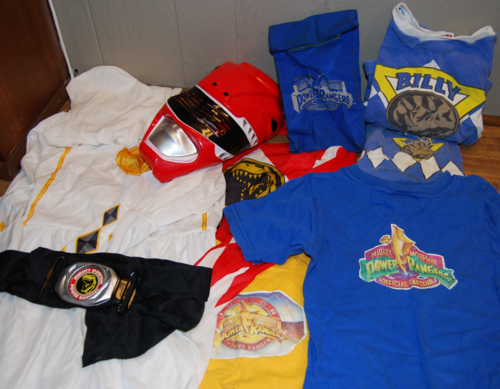 Power ranger clothes