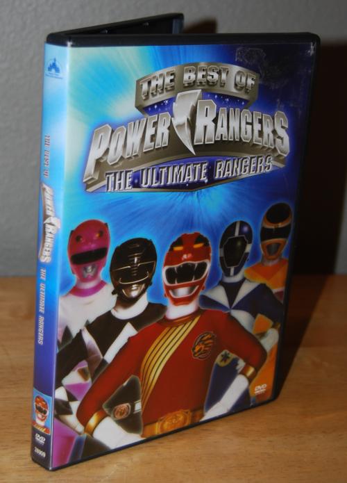 Best of power rangers dvd
