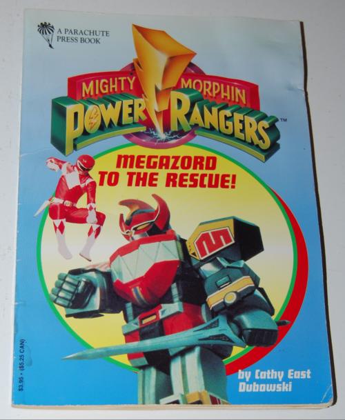 Power rangers book 2