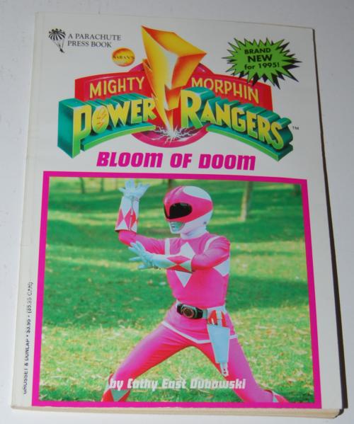 Power rangers book 4