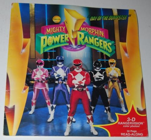 Power rangers 3d book