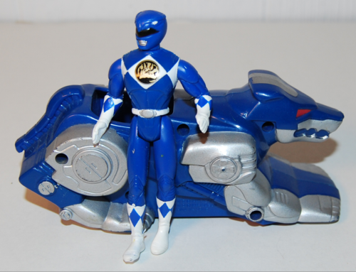 Power rangers vintage happy meal prizes 3 xx