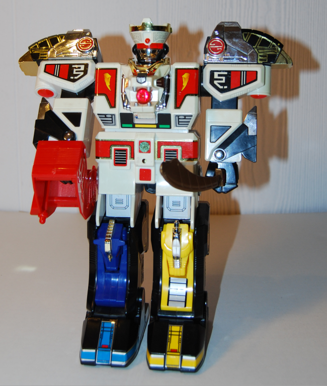 power rangers mega tigerzord