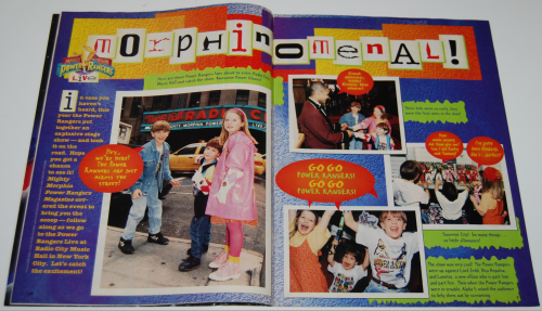 Power rangers magazine 2
