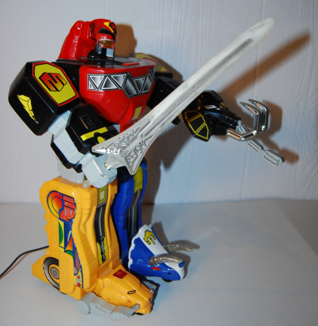 power rangers rc megazord