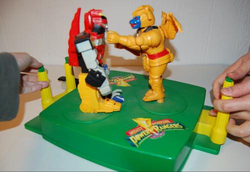 Power ranger rockem sockem game 2