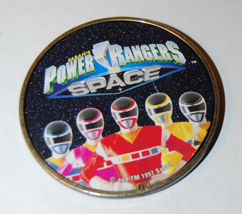 Power rangers space badge