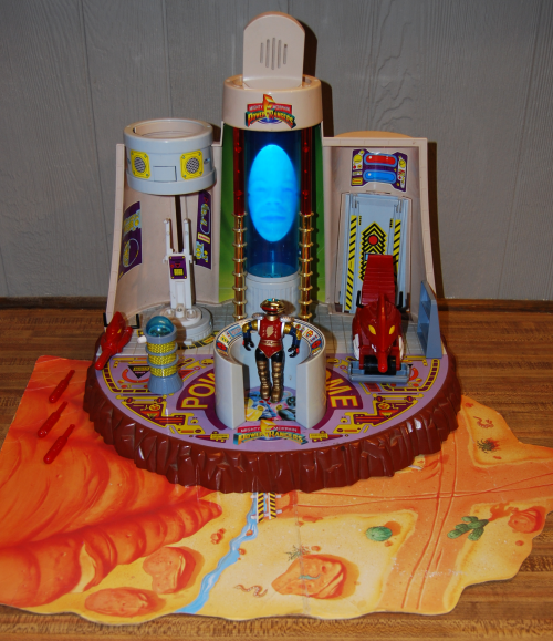 Power rangers power dome playset