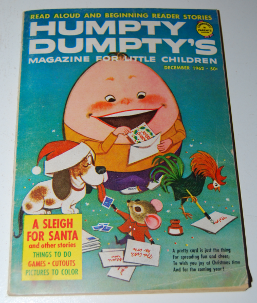 Vintage humpty dumpty's magazine x