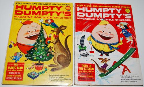 Vintage humpty dumpty's magazine 3