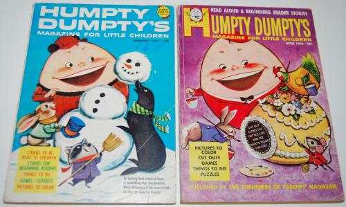 Vintage humpty dumpty's magazine 5