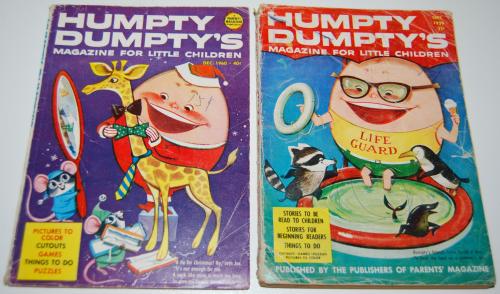 Vintage humpty dumpty's magazine 7
