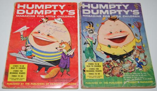 Vintage humpty dumpty's magazine 8