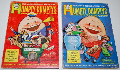 Vintage humpty dumpty's magazine 9