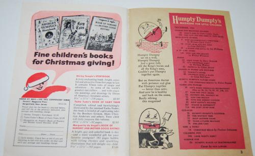 Vintage humpty dumpty's magazine 10
