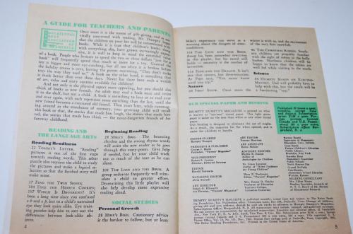 Vintage humpty dumpty's magazine 11