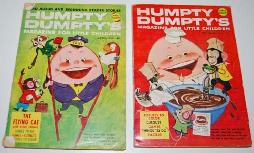 Vintage humpty dumpty's magazine