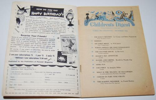 Vintage children's digest 5