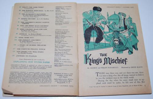 Vintage children's digest 6