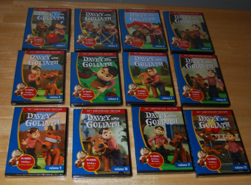 Davey & goliath 50th anniversary dvd collection 4