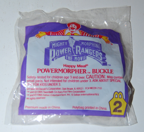 Power morpher buckle happy meal toy