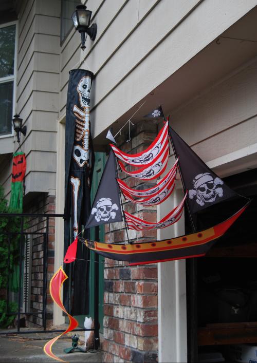 Pirate ship kite x