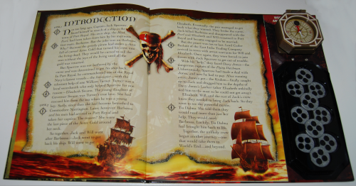 Pirates of the caribbean at world's end book & viewer 5