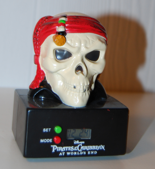 Pirates of the caribbean led clock