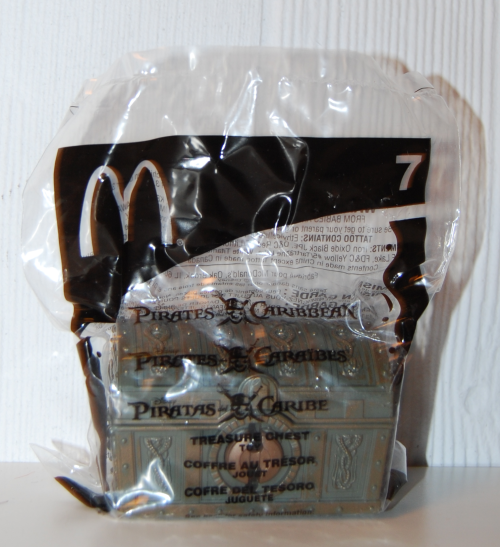 Pirates of the caribbean happy meal prizes 2