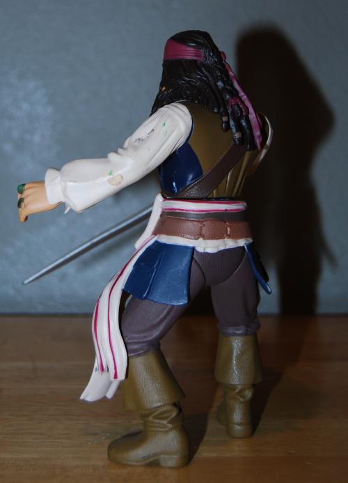 Jack sparrow action figure 2