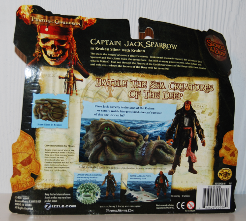 Pirates of the caribbean action figures 2x