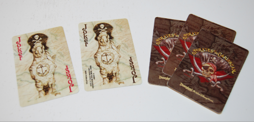 Pirates of the caribbean playing cards 2
