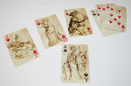 Pirates of the caribbean playing cards 3
