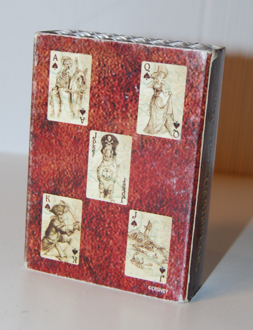 Pirates of the caribbean playing cards x