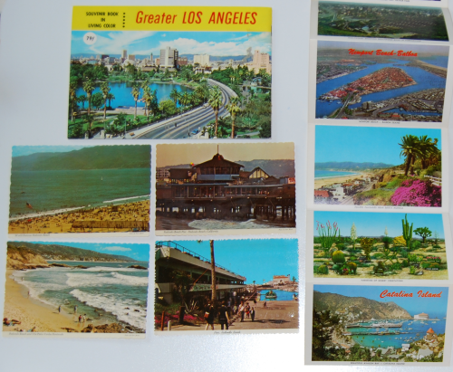 Vintage los angeles ephemera x
