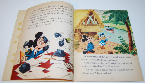 Mickey mouse & the missing mouseketeers book 3