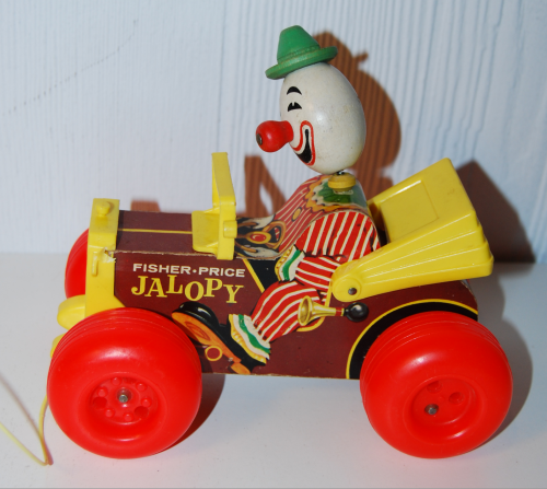 Vintage fisher price jalopy 4